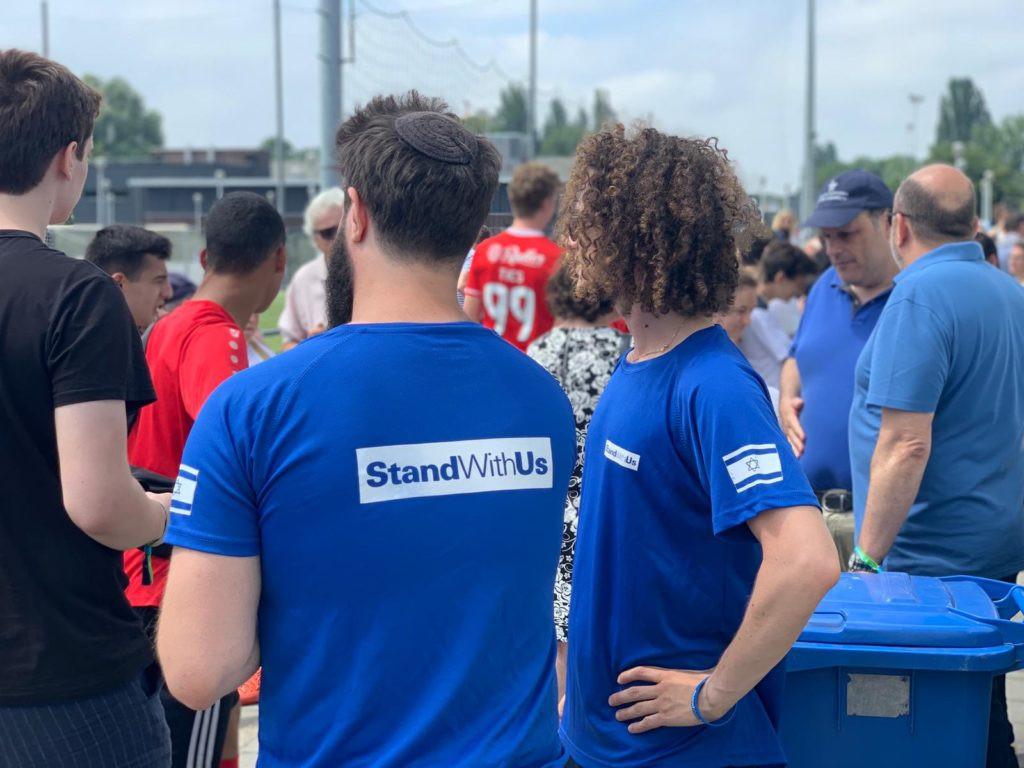 SWU Netherlands playing soccer at JomHaVoetbal