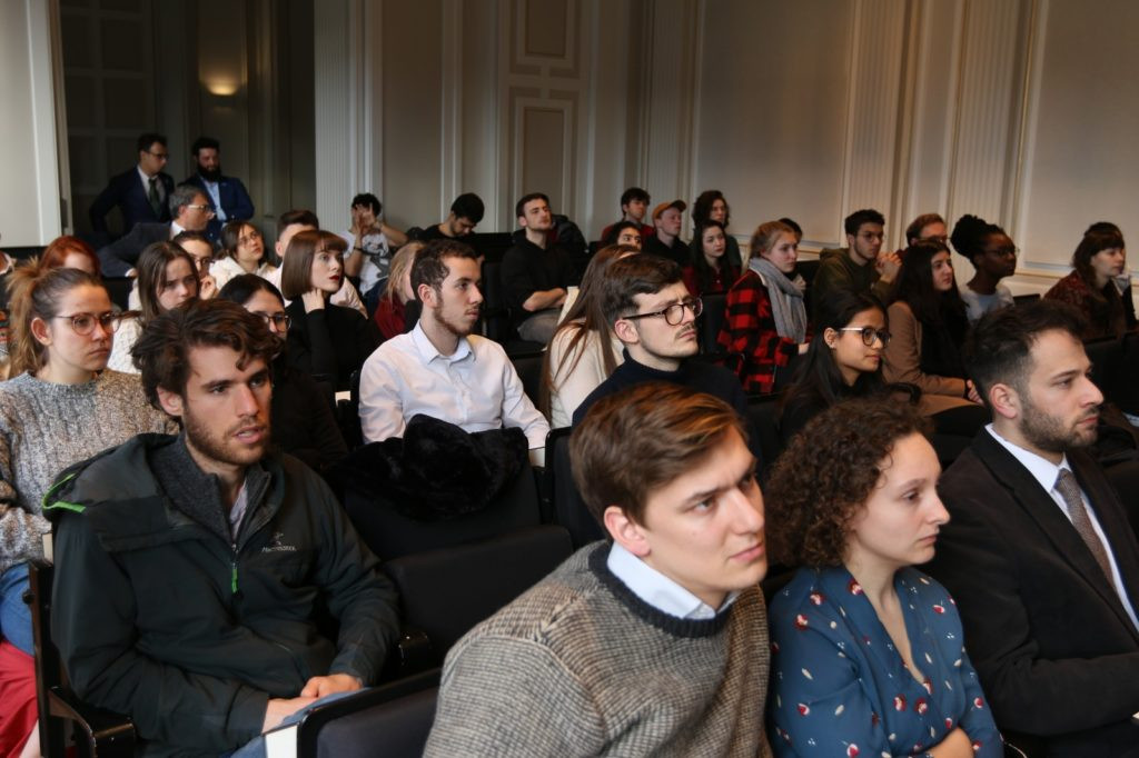 StandWithUs Netherlands international law seminar