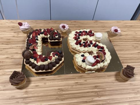 Gâteaux d'anniversaire CyberSecura