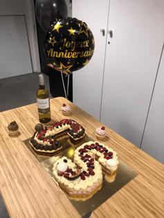 Gâteaux d'anniversaire _instants_plaisir
