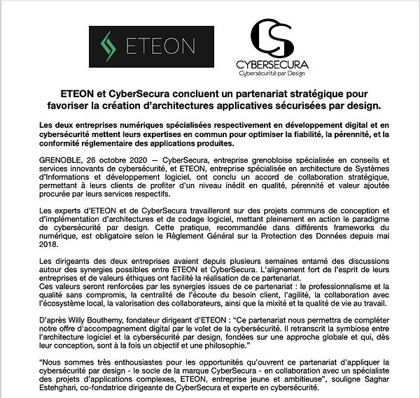 Communiqué-presse-CyberSecuraxETEON
