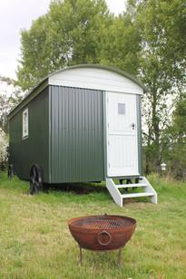 Howe of Torbeg Shepherds Hut Exterior 6.