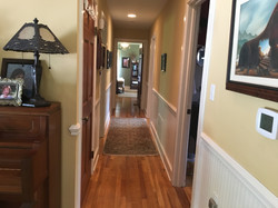 hallway from great room to bedrooms