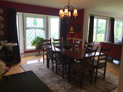 dining room with seating for 8 ..