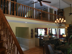 view of loft from great room staircase (has additional sleeping options)