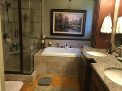 master bath jetted soaking tub