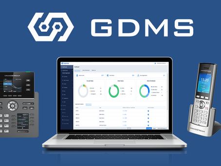 Grandstream Device Management System (GDMS), is now officially launched