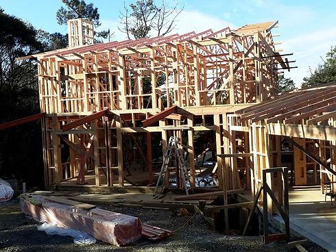 18 Sunnyvale. Framing.roof trusses.jpg