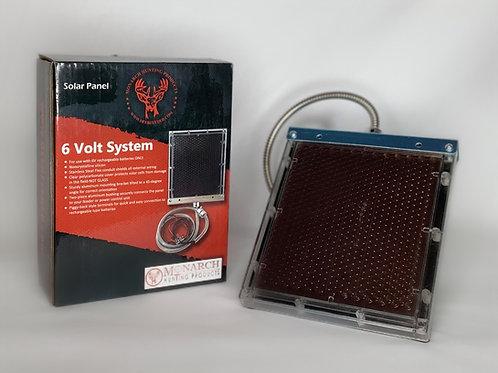 6 Volt Solar Panel W/ Bracket
