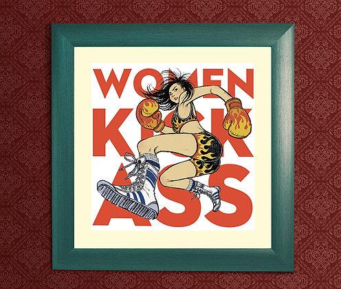 WOMEN KICK ASS