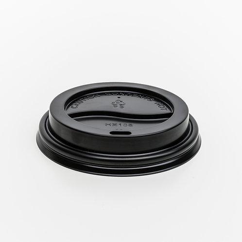 Recyclable 12oz Lid - Black - 1 Carton - 1,000 lids