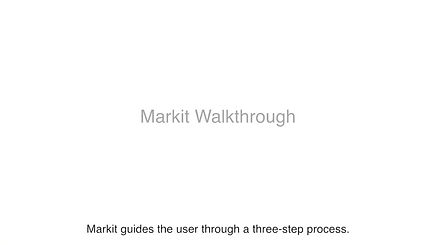A quick snippet of how Markit enables audio annotation
