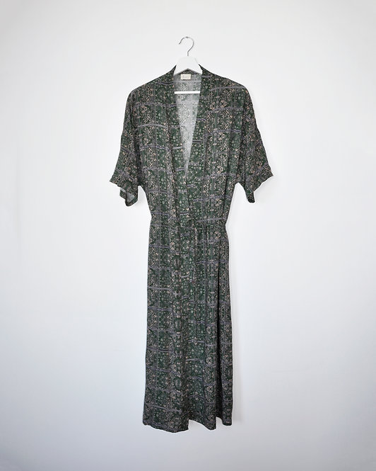 Kimene Dress in Verde