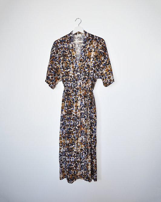 Kimene Dress in Golden Night