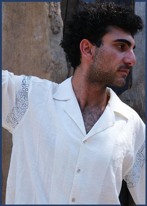 Tenere Shirt- Narrative (M/L)