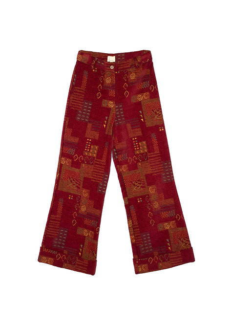 Aya Pants Funky Reddish