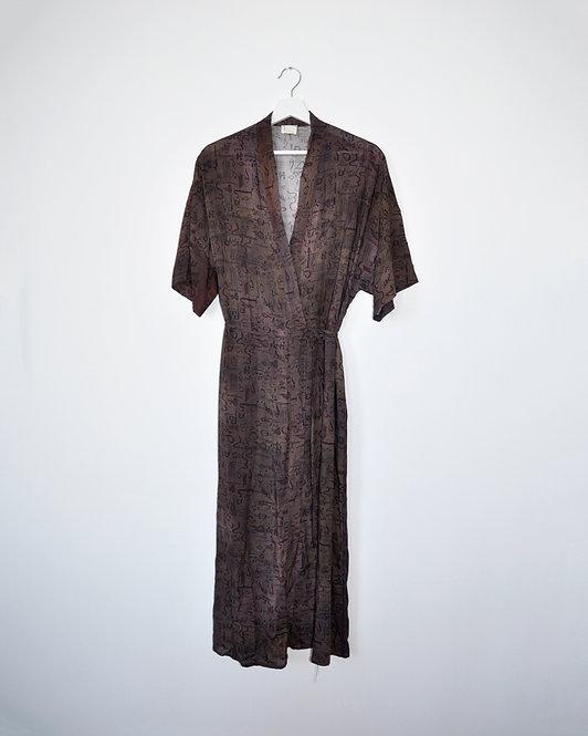 Kimene Dress in Tatouage