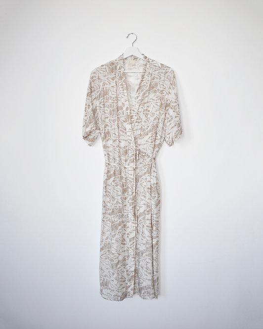 Kimene Dress in Ivory