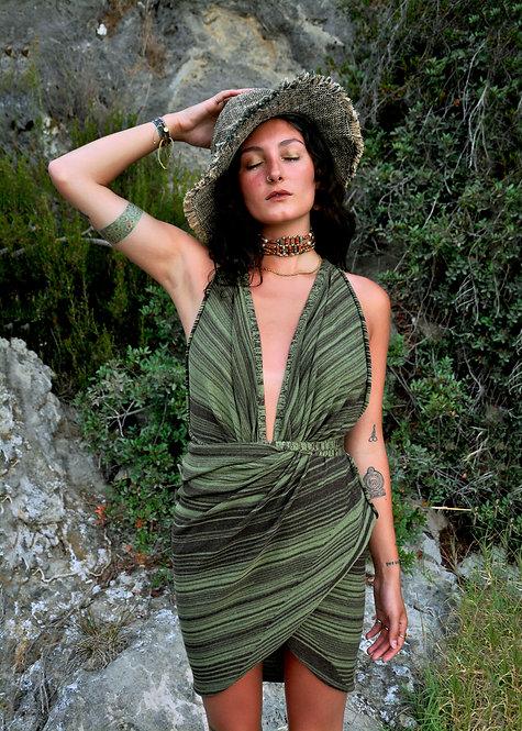 Knit Sarong - Verde Short