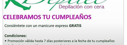 Depilación con Cera Quito, Depilación Quito, Depilec Promoción, Depilec Cumpleaños Gratis, Depilación Gratis