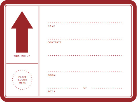 graphic regarding Printable Moving Labels named Calgary Movers: Cost-free PRINTABLE Shifting LABELS