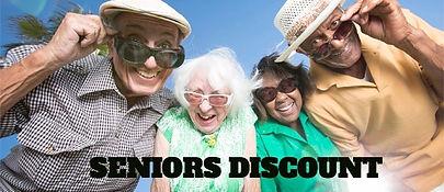 Seniors Discount 20% Off Calgary