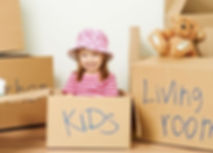 kids moving boxes