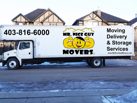 Mr. Nice Guy Movers: When you have to move fast