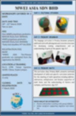 MWEI Asia 3 Day CultLangMath Primary WSh