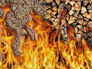 Riscaldarsi con la biomassa