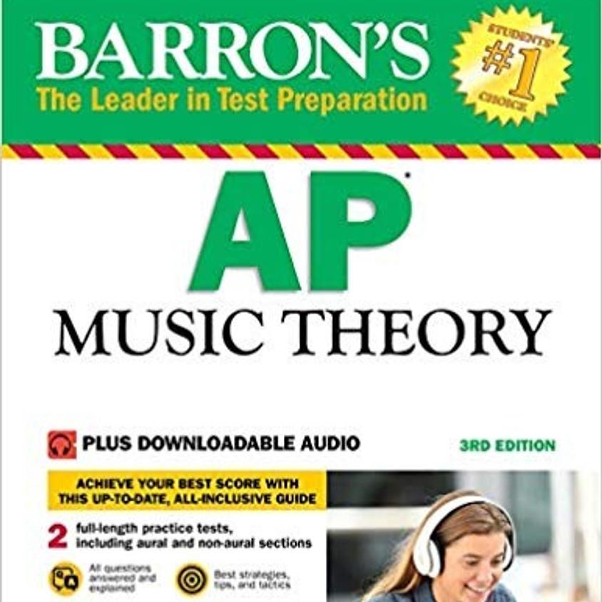 AP Music Theory Class Registration(2019 Summer)