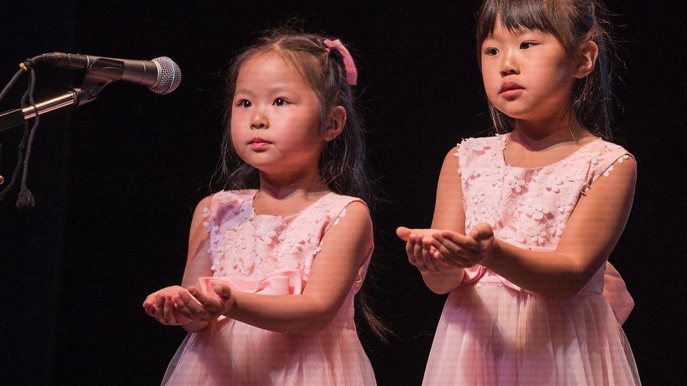 Group Singing Class - Junior Group (Preparatory Level - Level 2)
