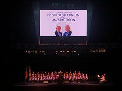Bill Clinton Event Peformance.JPG