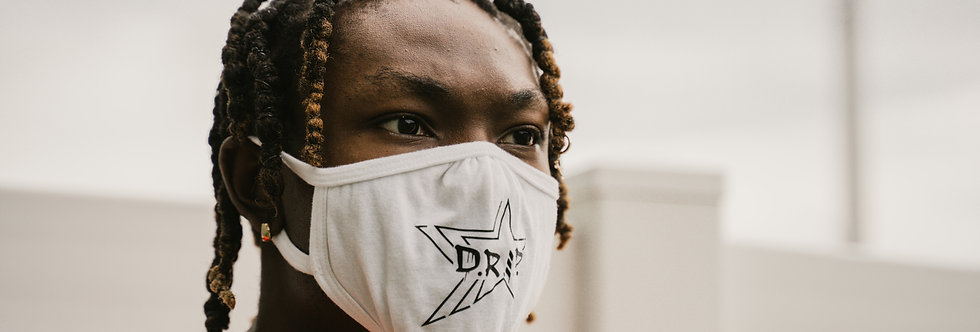 D.R.I.P Star Face Mask