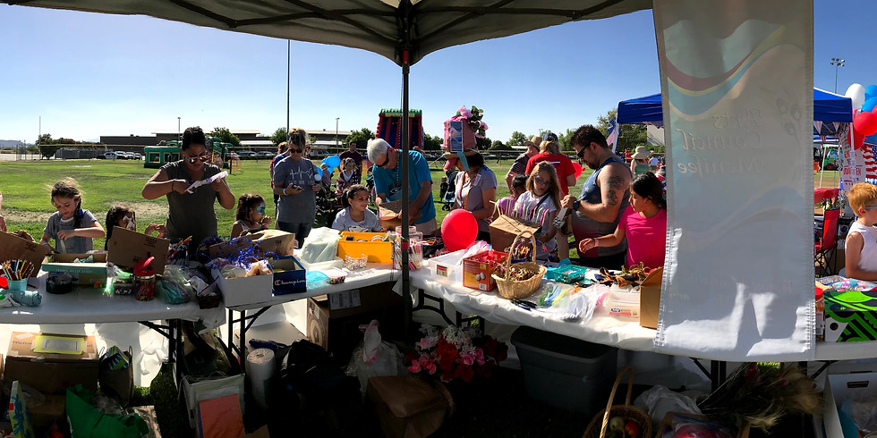 CRAZY HAT BOOTH at Menifee Independence Day Celebration
