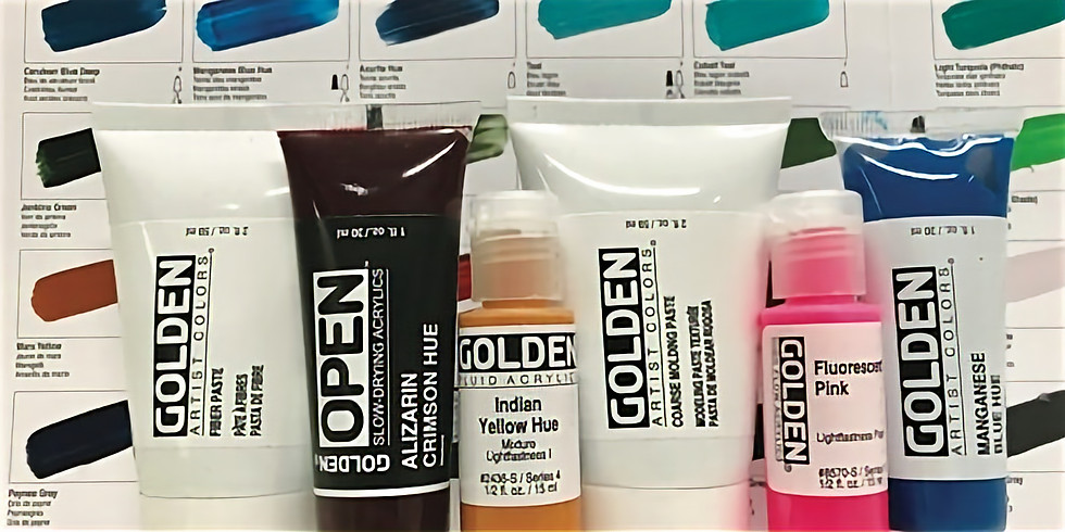 CANCELLED - GOLDEN Acrylics: Goody Bag Project