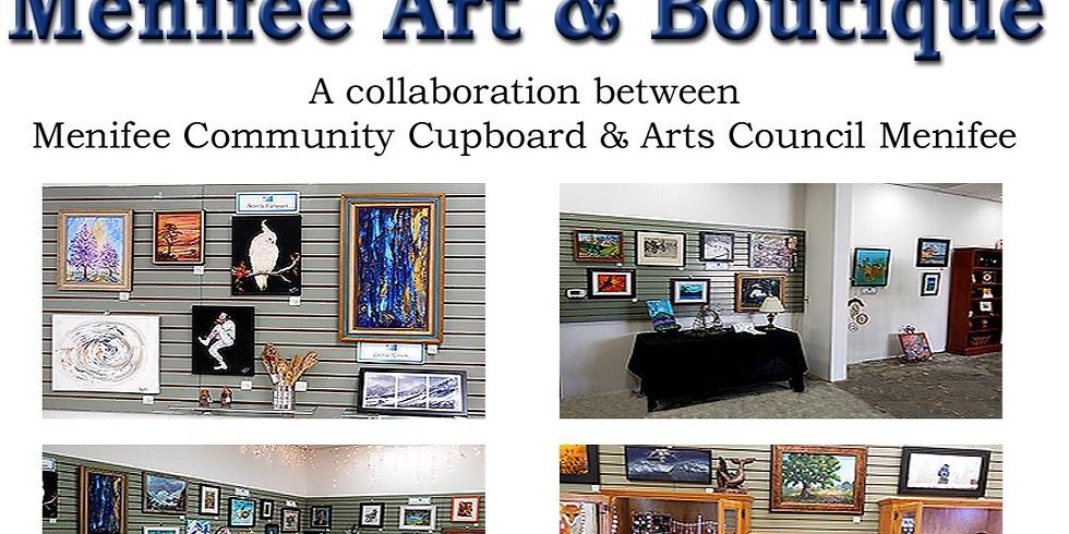 Menifee Art & Boutique Is Open