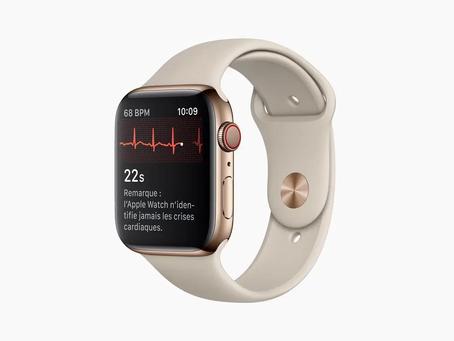 L'Apple Watch peut déterminer la fragilité d'un utilisateur