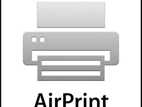 iOS 15: mise à jour des options d'impression