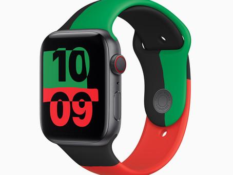 Apple célèbre le Black History Month avec une Apple Watch édition limitée, un bracelet Unity,...