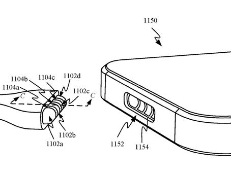Brevet Apple: port de charge MagSafe sur l'iPhone