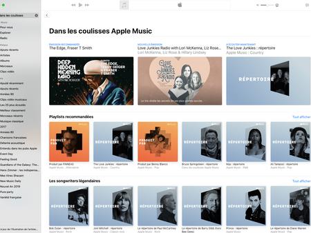"""Apple Music: """"Dans les coulisses"""" met en avant les musiciens et auteurs-compositeurs"""