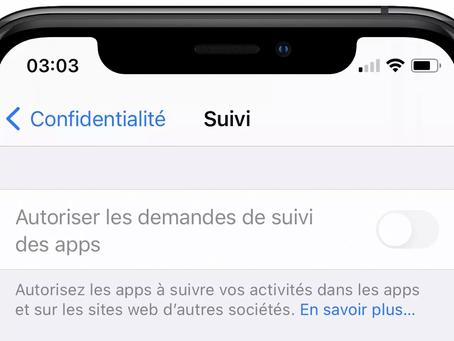 """Apple explique pourquoi """"Autoriser les demandes de suivi des apps"""" peut être grisé sur iOS 14.5"""