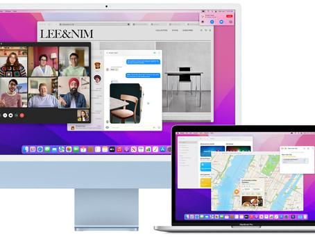 macOS Monterey: possible d'utiliser un Mac comme écran externe avec AirPlay