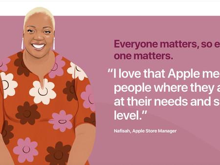 "Apple lance une nouvelle page web ""Shared Values"""