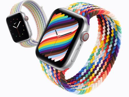 """Apple Watch: 2 nouveaux bracelets """"Pride Edition"""" disponibles"""