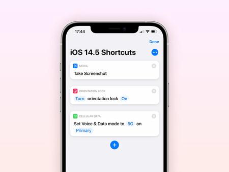 iOS 14.5 bêta 2: de nouvelles actions à l'application Raccourcis