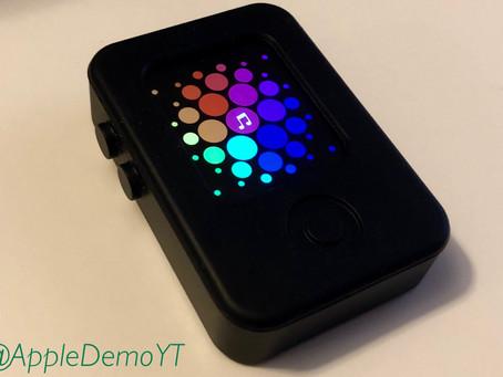 Nouvelles images d'un prototype d'Apple Watch et de watchOS
