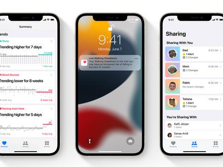 Apple apporte de nouvelles fonctionnalités à l'application Santé