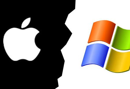 La rivalité entre Apple et Microsoft est de retour